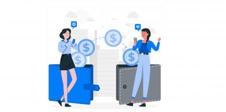كيفية تحويل الأموال إلى حساب تداول آخر على Exness