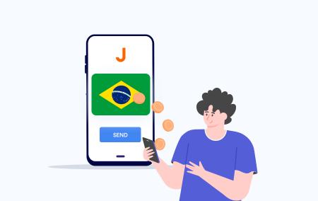 الإيداع والسحب على Exness باستخدام PIX في البرازيل
