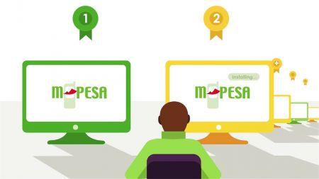 الإيداع والسحب باستخدام M-Pesa على Exness