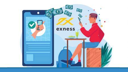 كيفية التسجيل وسحب الأموال في Exness