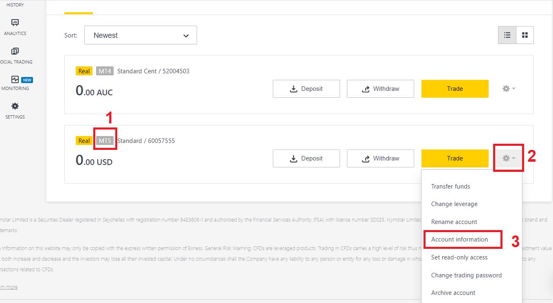 كيفية تنزيل وتثبيت MetaTrader 4 (MT4) و MetaTrader 5 (MT5) لأجهزة الكمبيوتر المحمول / الكمبيوتر الشخصي (Window و MacOS و Linux) في Exness