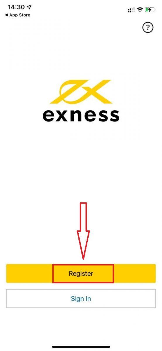 كيفية فتح حساب تجريبي على Exness