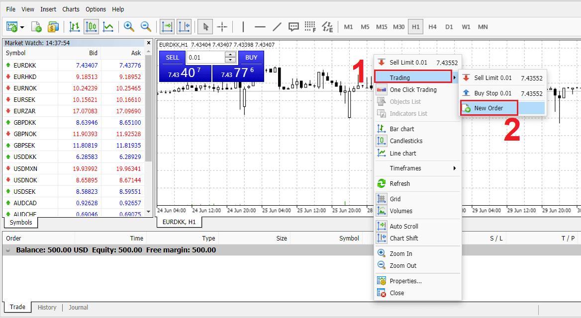 كيفية التسجيل وتداول الفوركس في Exness